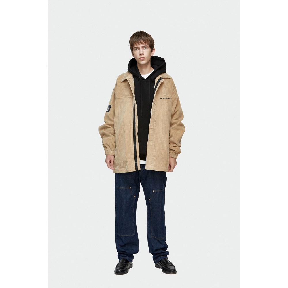 LMC SINGLE CORDUROY JACKET beige