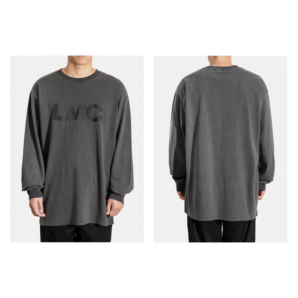 LMC OG LONG SLV TEE dark gray