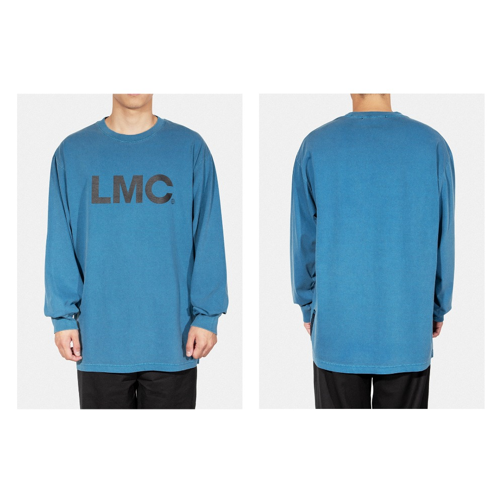 LMC OG LONG SLV TEE dark blue