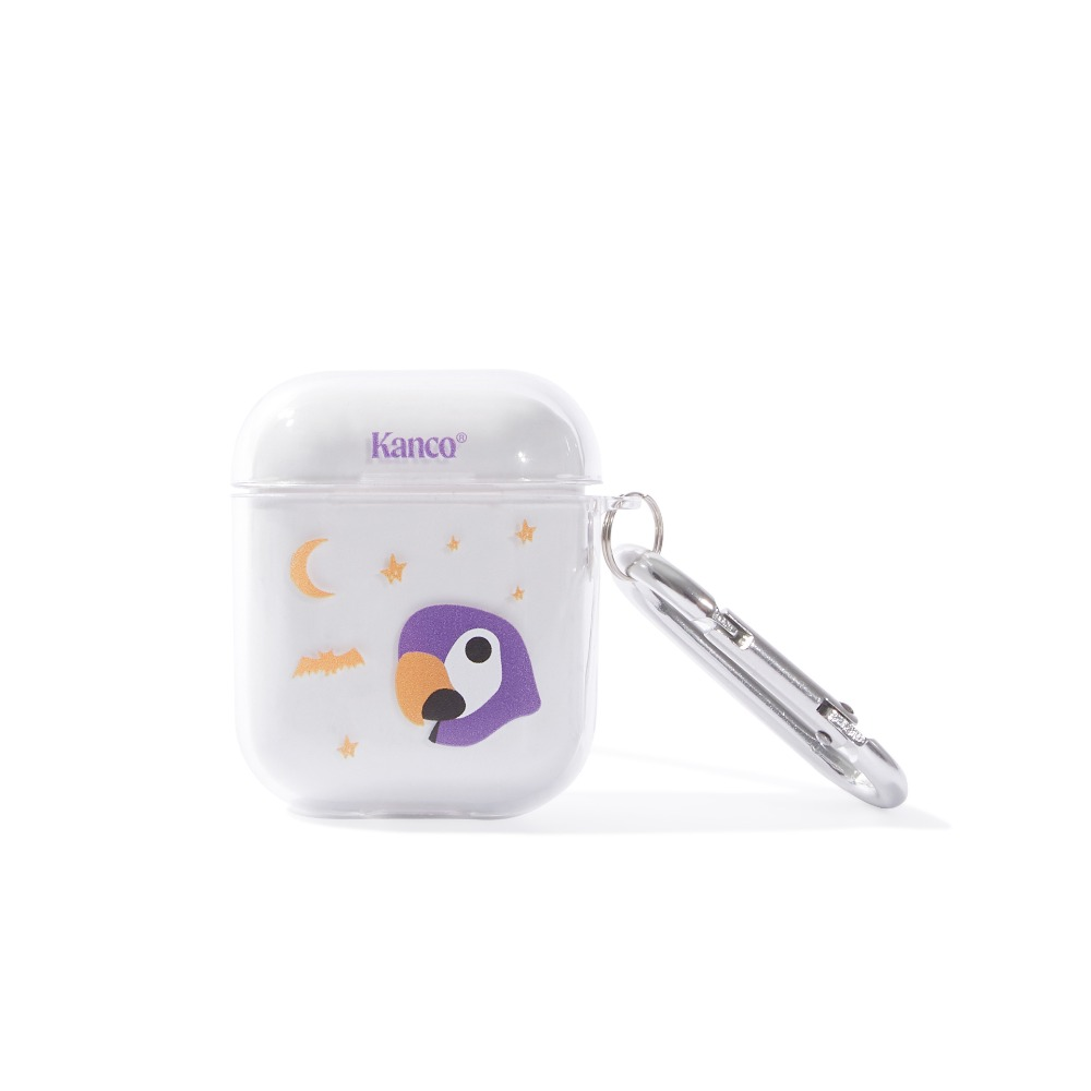 KANCO HALLOWEEN AIRPODS CASE clear