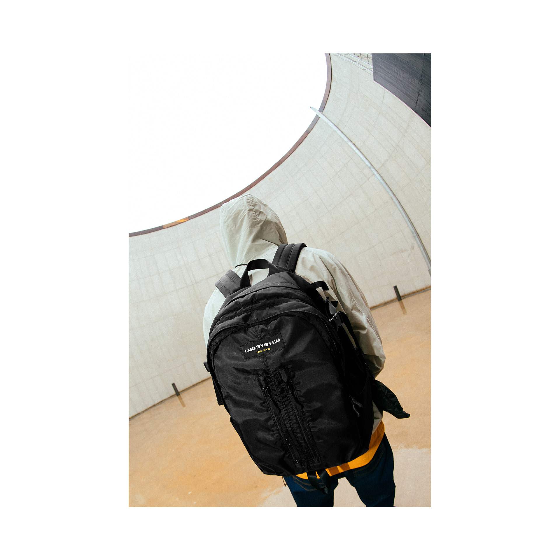 LMC SYSTEM SANTA MONICA BACKPACK black