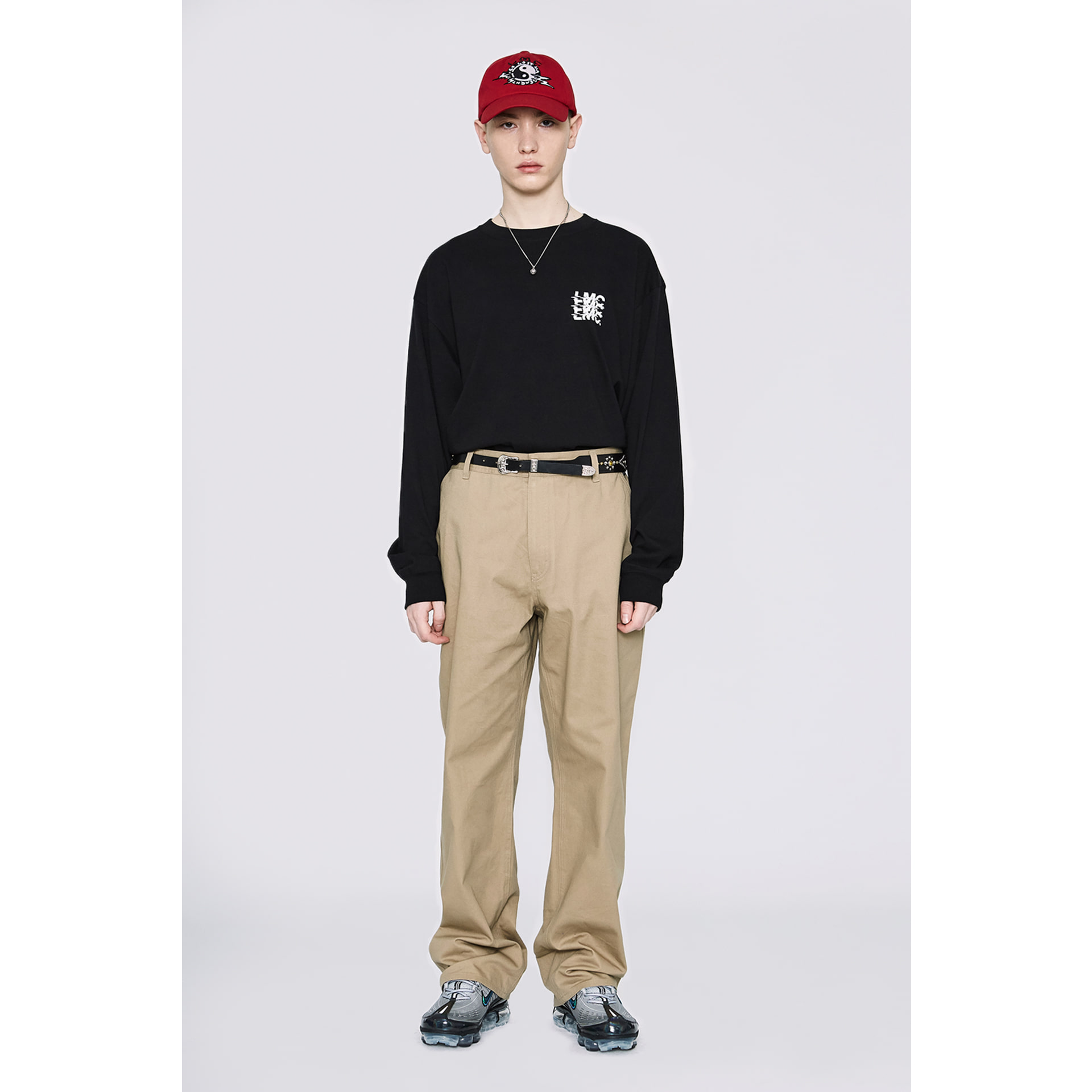 LMC BASIC FN CHINO PANTS beige