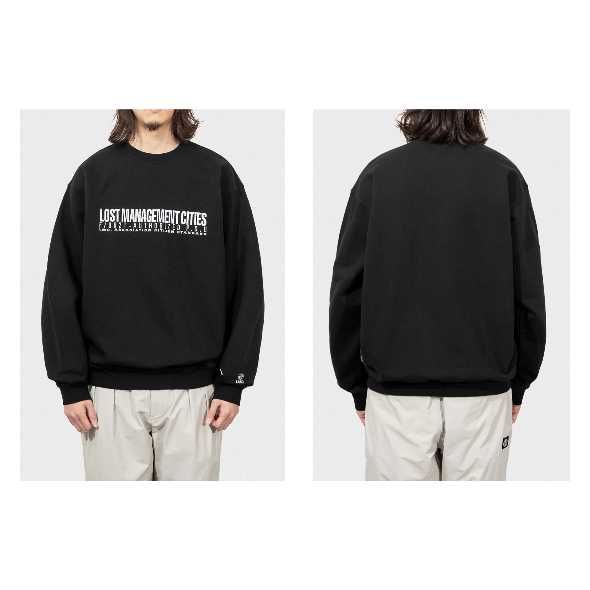 LMC AUTHORIZED LOGO SWEATSHIRT black