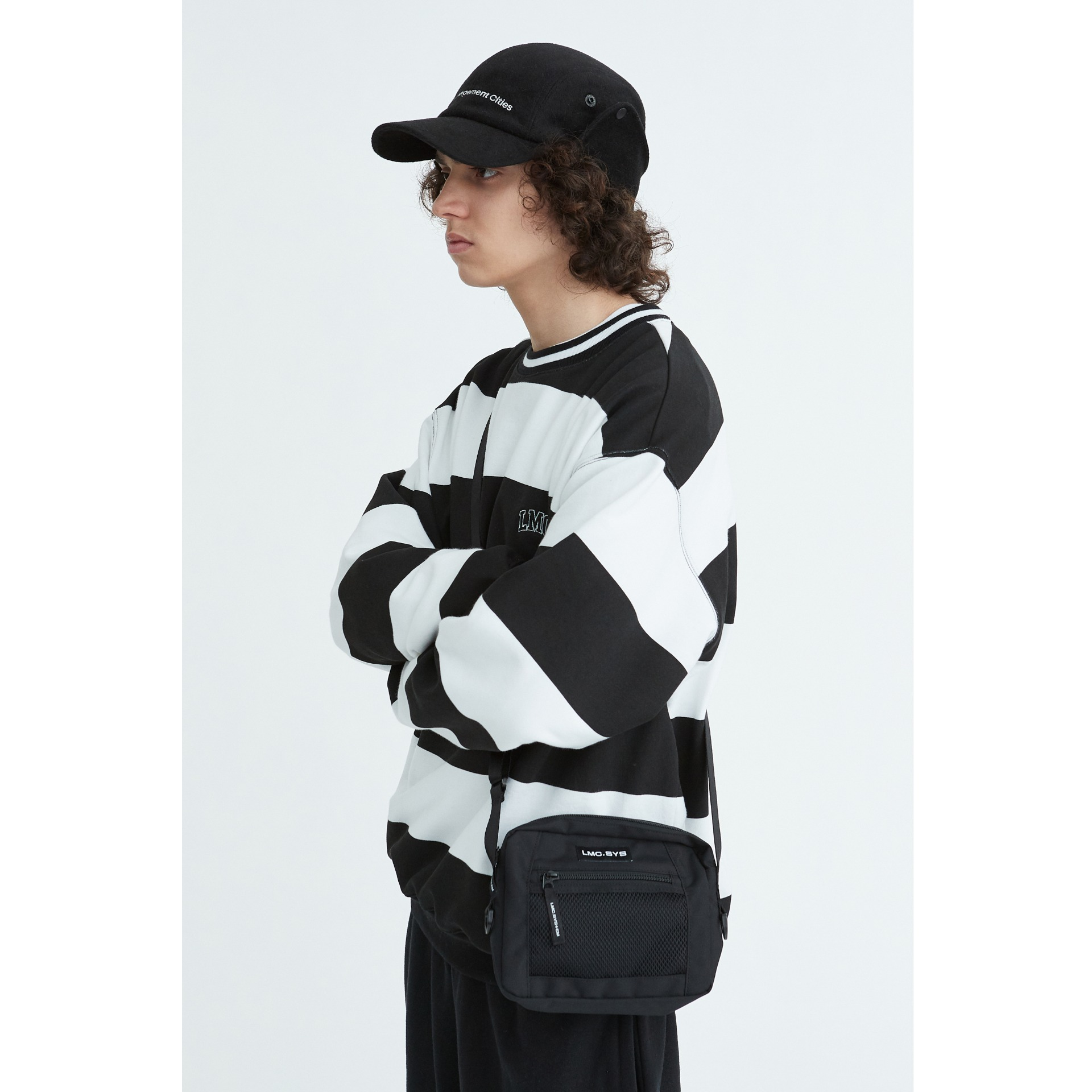 LMC SYSTEM UTILIZE CROSS BAG black