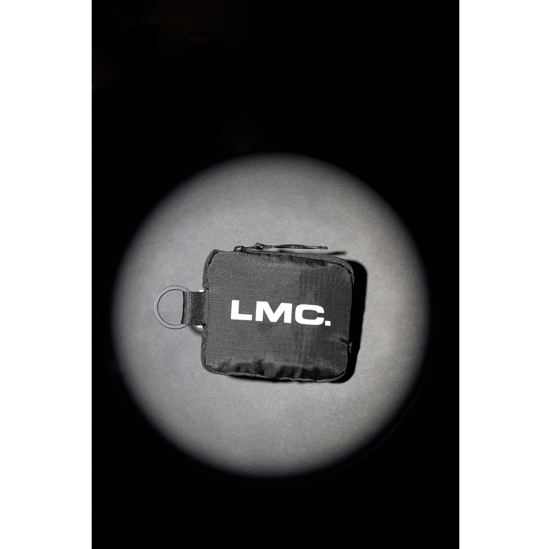LMC SYSTEM RING COIN POUCH black