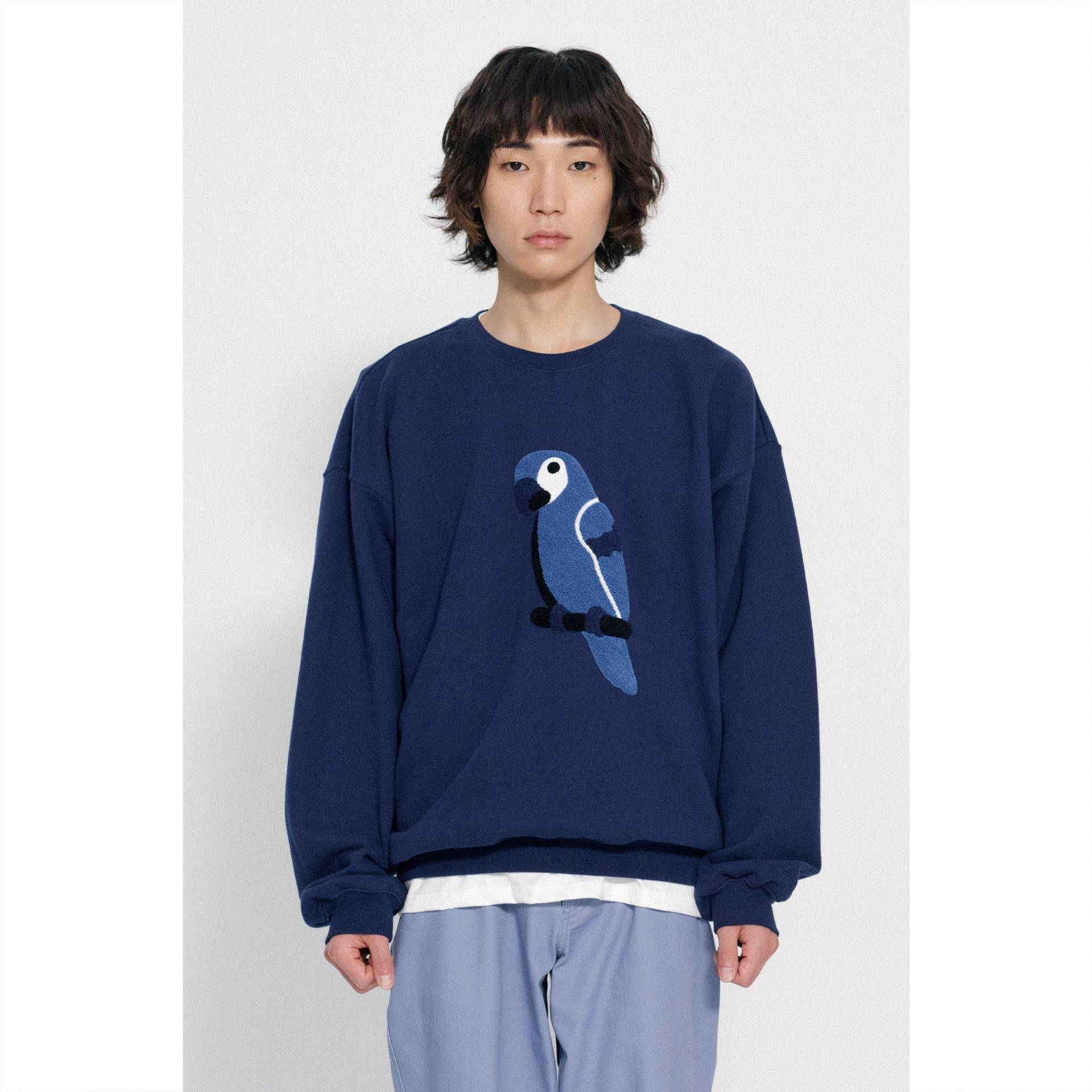 KANCO FULL LOGO SWEATSHIRT navy