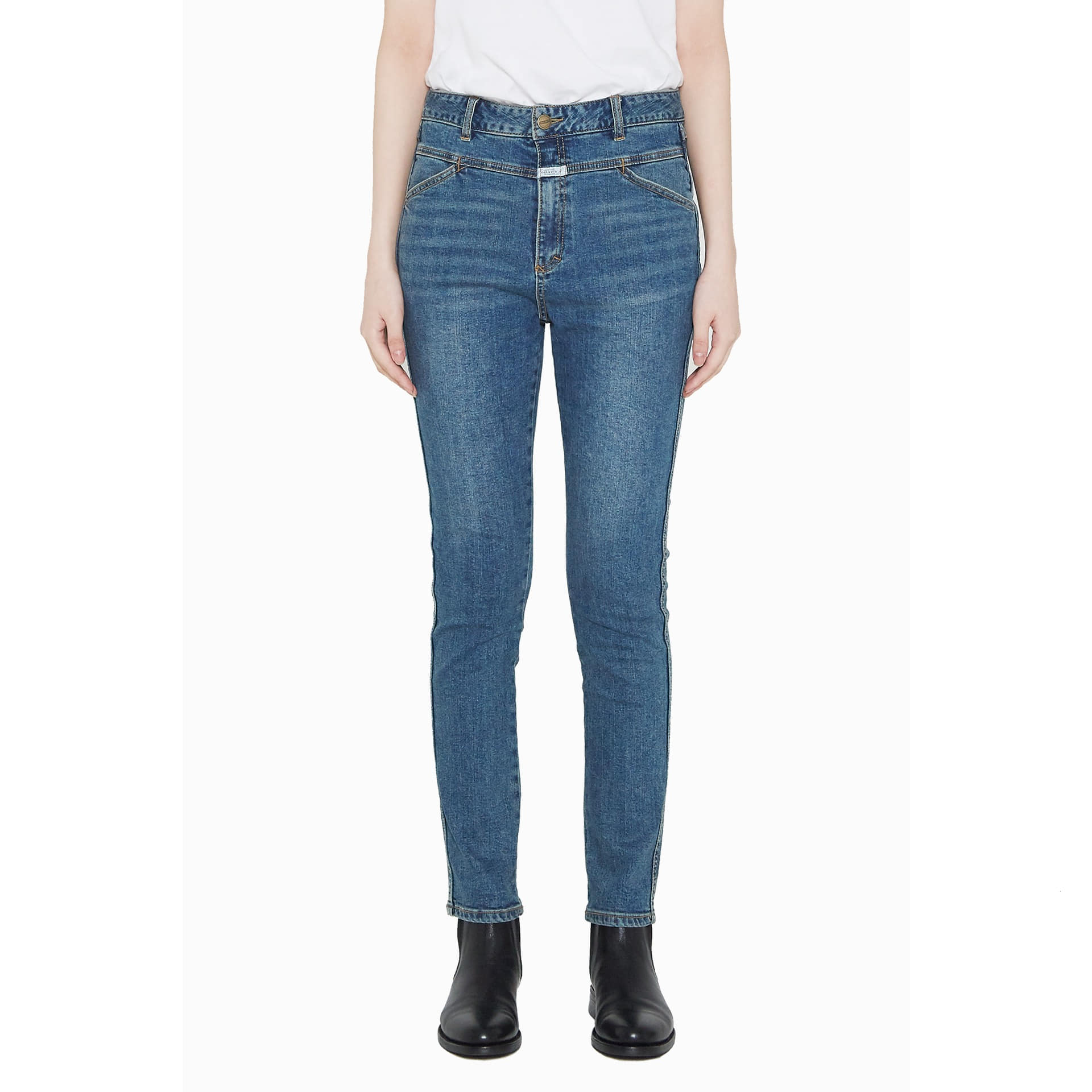 MFG SKINNY X-JEANS (WOMEN) stone blue