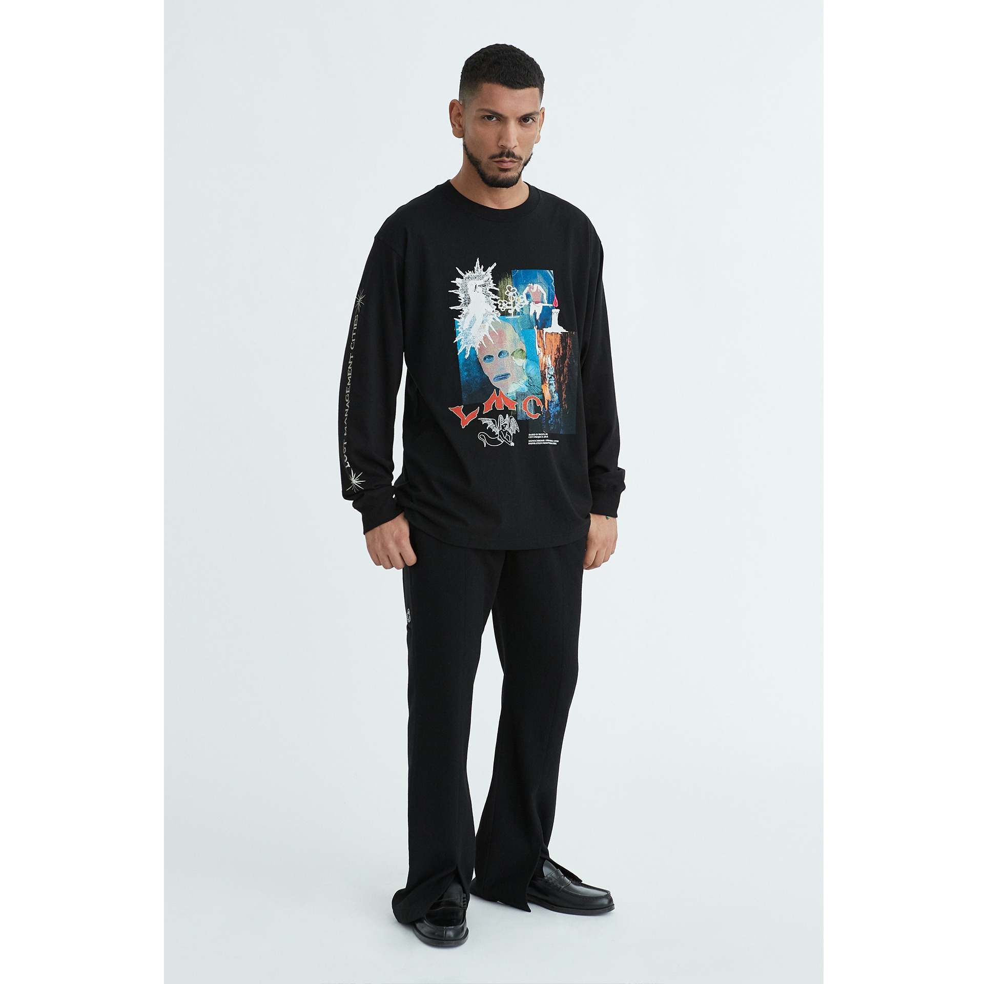 LMC ZT LONG SLV TEE black