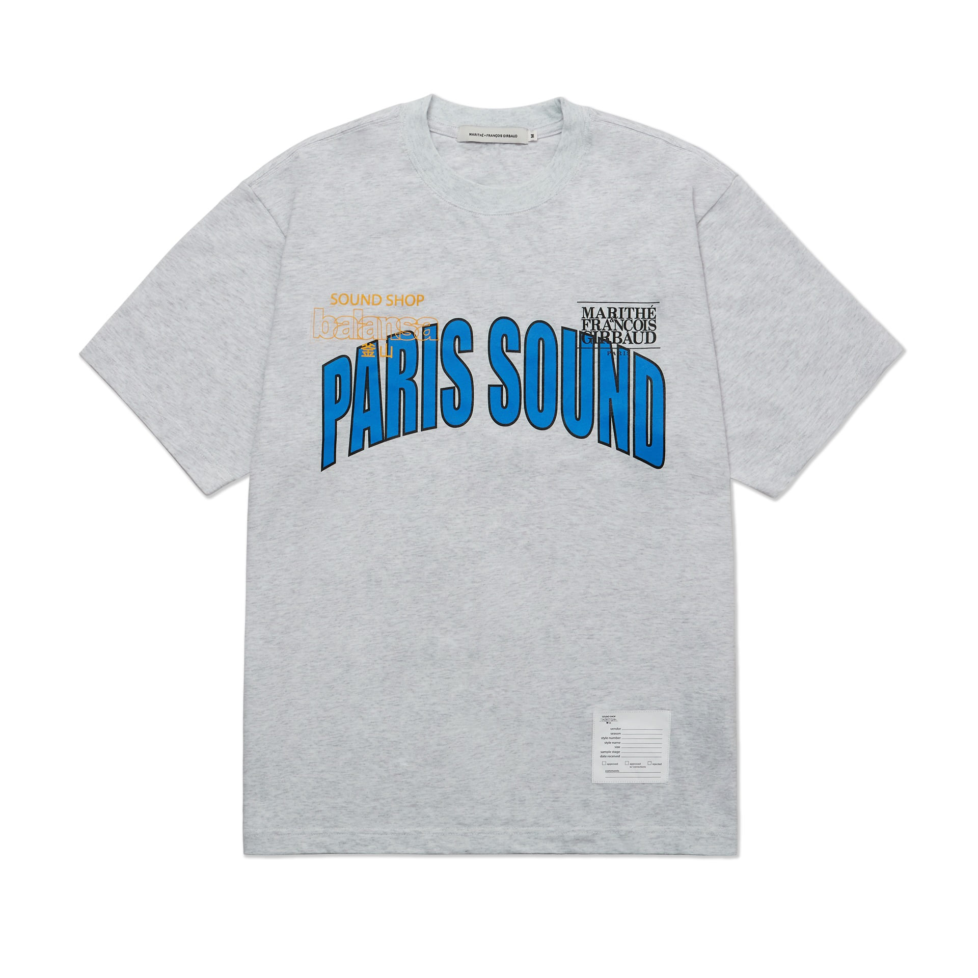 MFG X BALANSA SOUND TEE ash gray