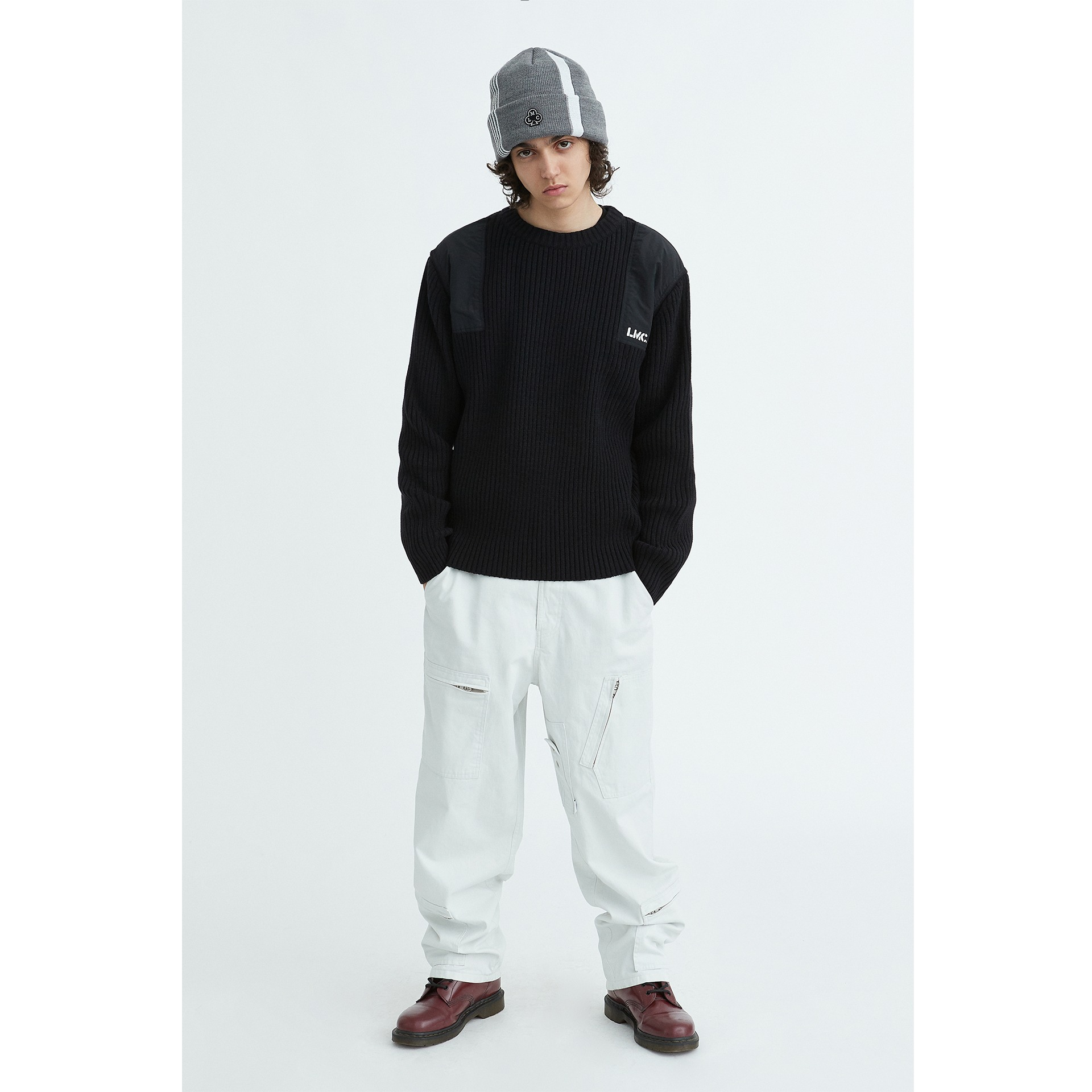 LMC COMMANDER KNIT SWEATER black