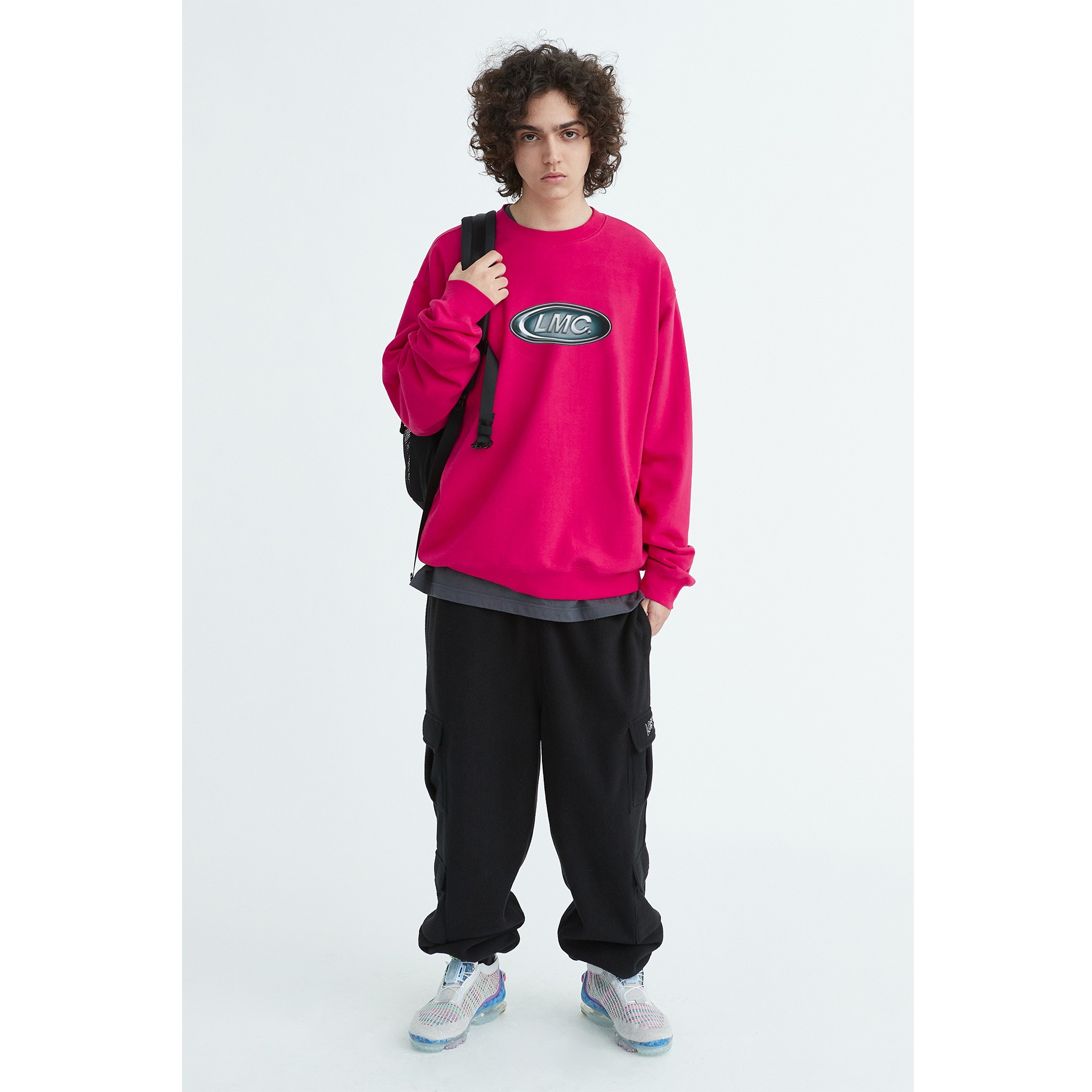 LMC CONVEX CO SWEATSHIRT pink