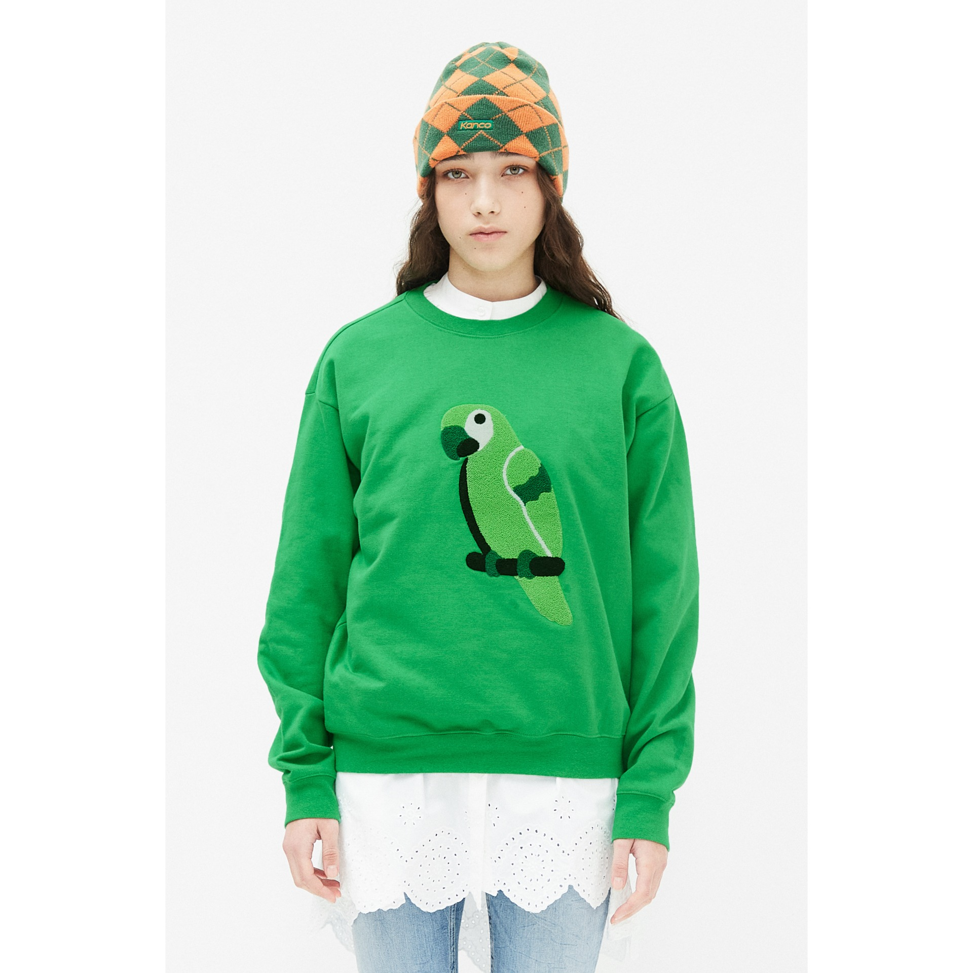 KANCO FULL LOGO SWEATSHIRT green