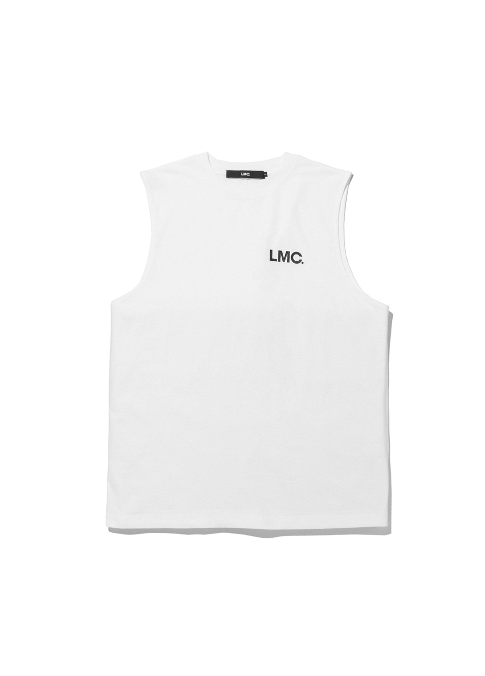 LMC OG OVERSIZED SLEEVELESS white