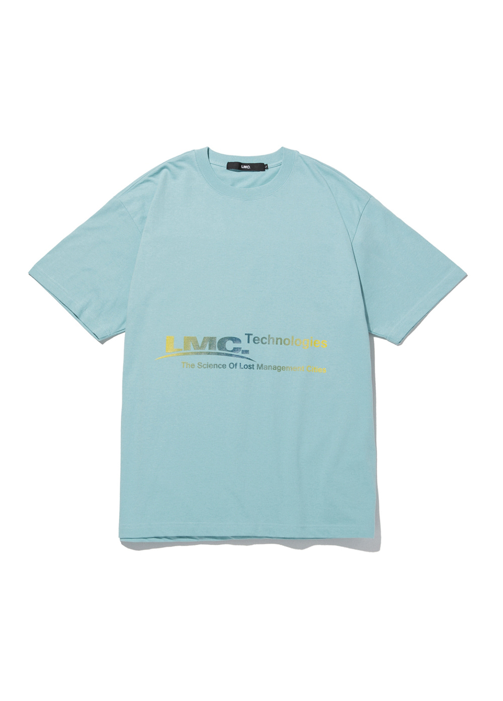 LMC TECH GRADATION TEE mint