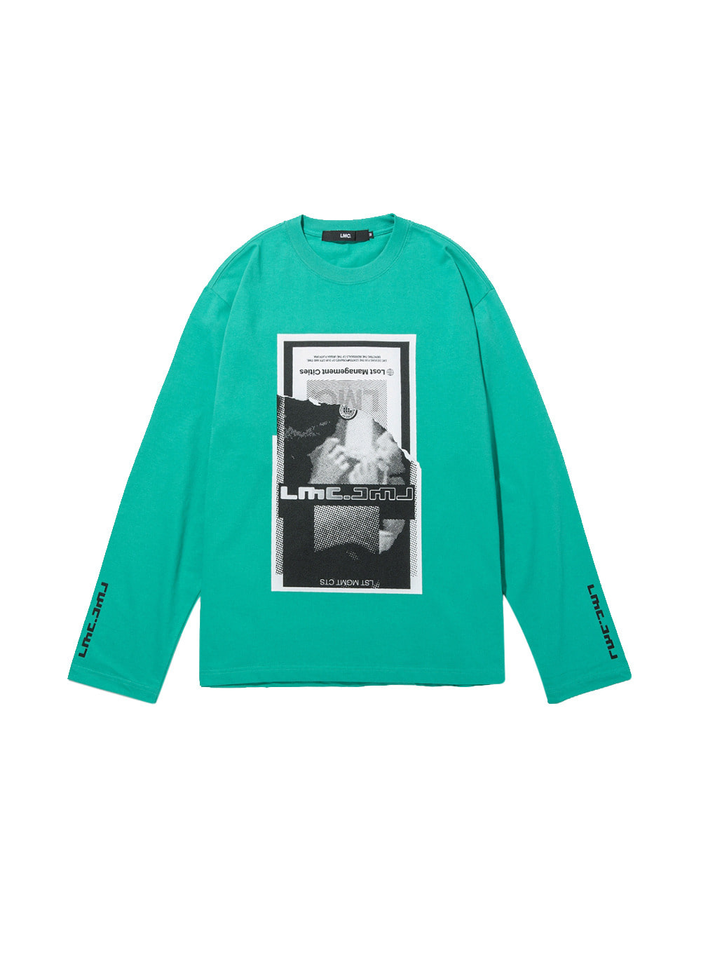 LMC TORN SCRAP LONG SLV TEE mint