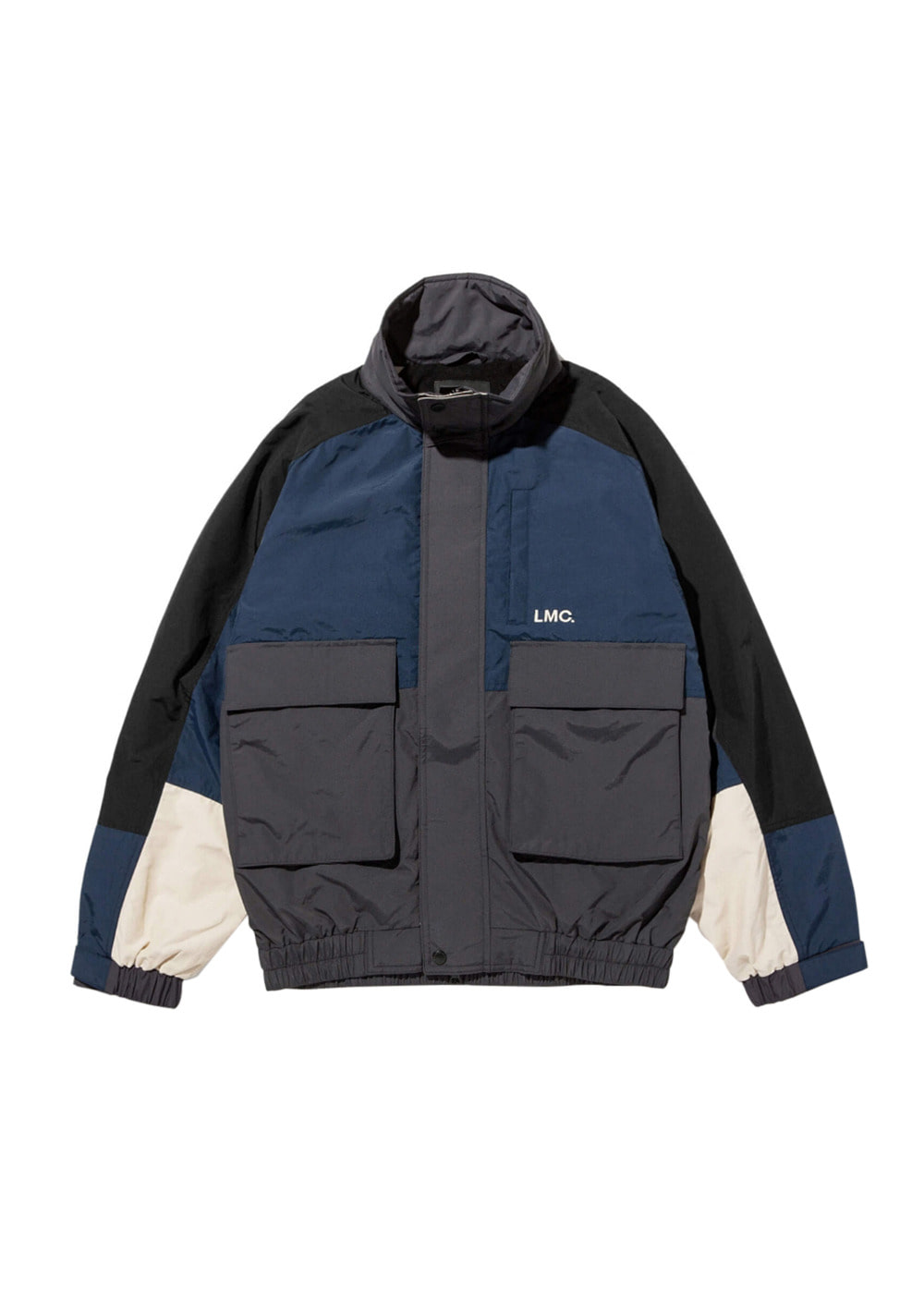 LMC FRONT POCKET WINDBREAKER black