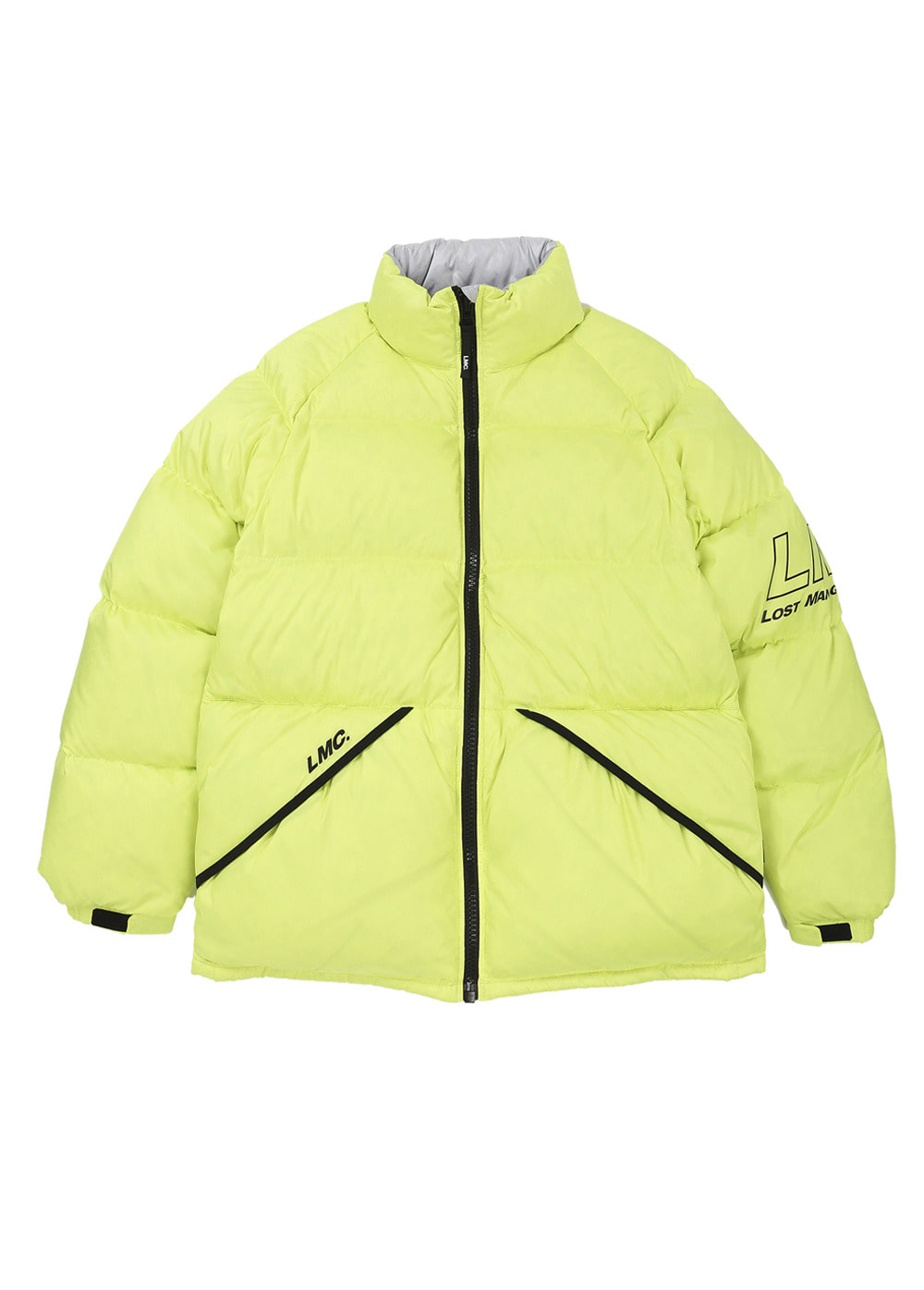 LMC LIGHT DOWN PARKA lime