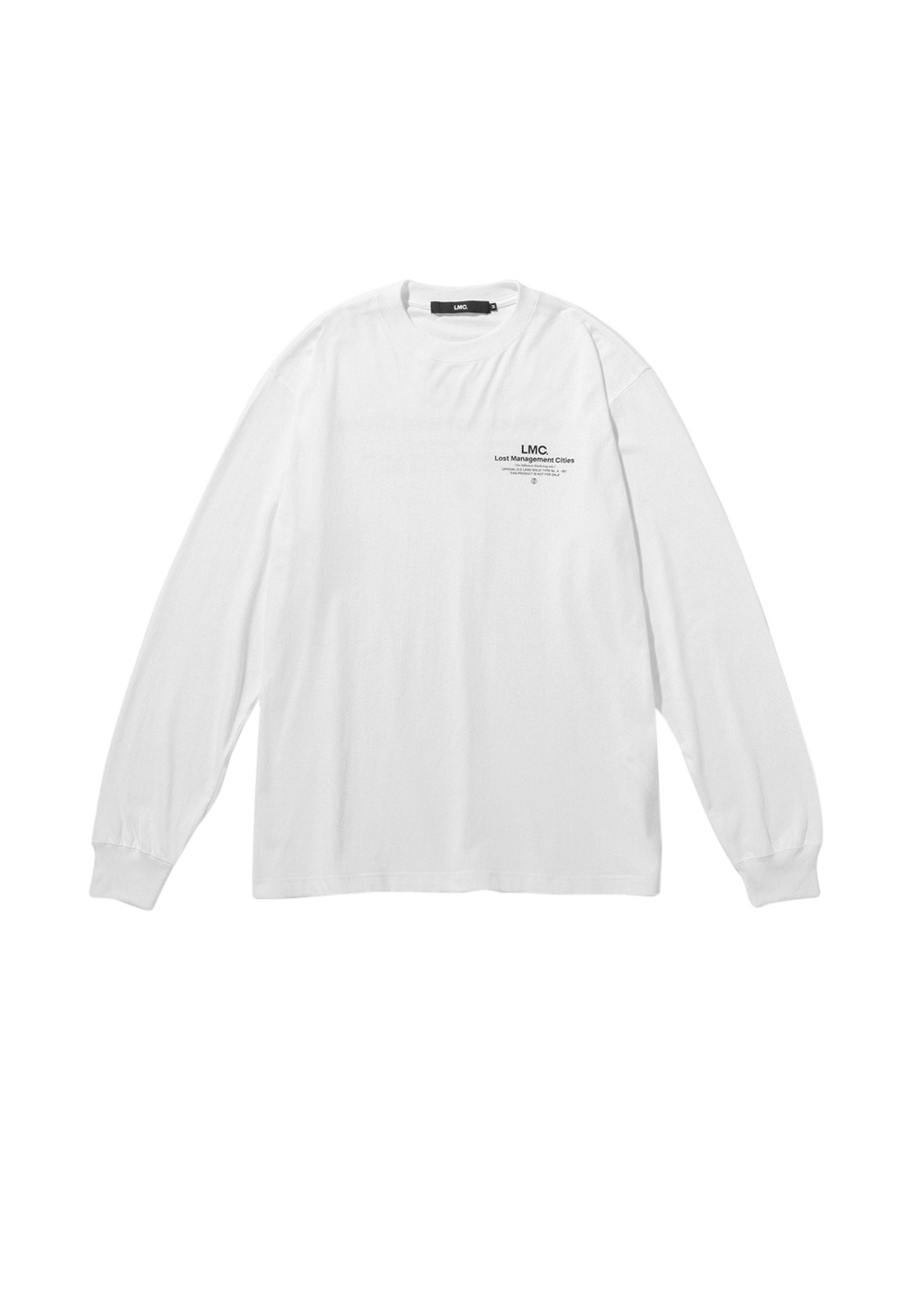 LMC INFLUENCER LONG SLV TEE white
