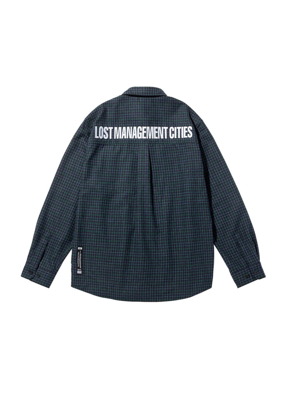 LMC FN PLAID SHIRT blue