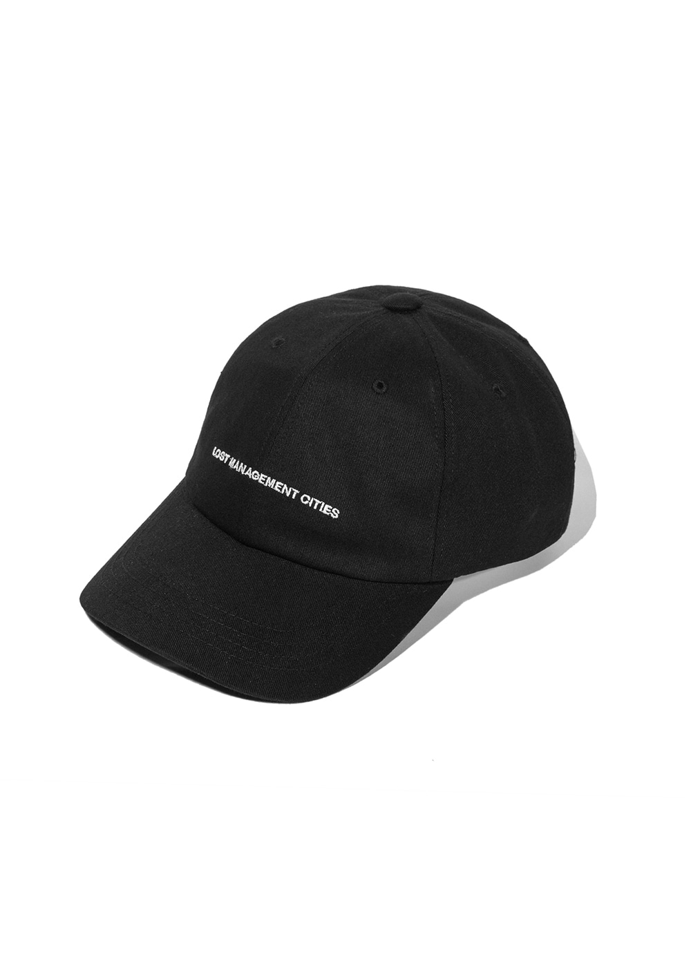 LMC CAPITAL LOGO 6 PANEL CAP black