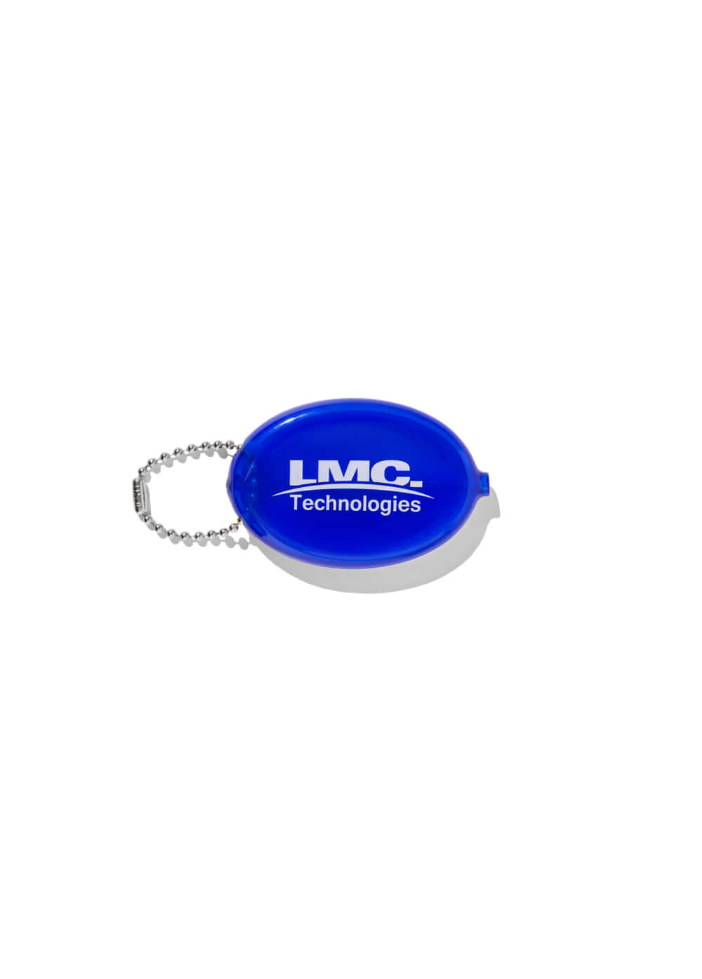 LMC RUBBER COIN PURSE blue