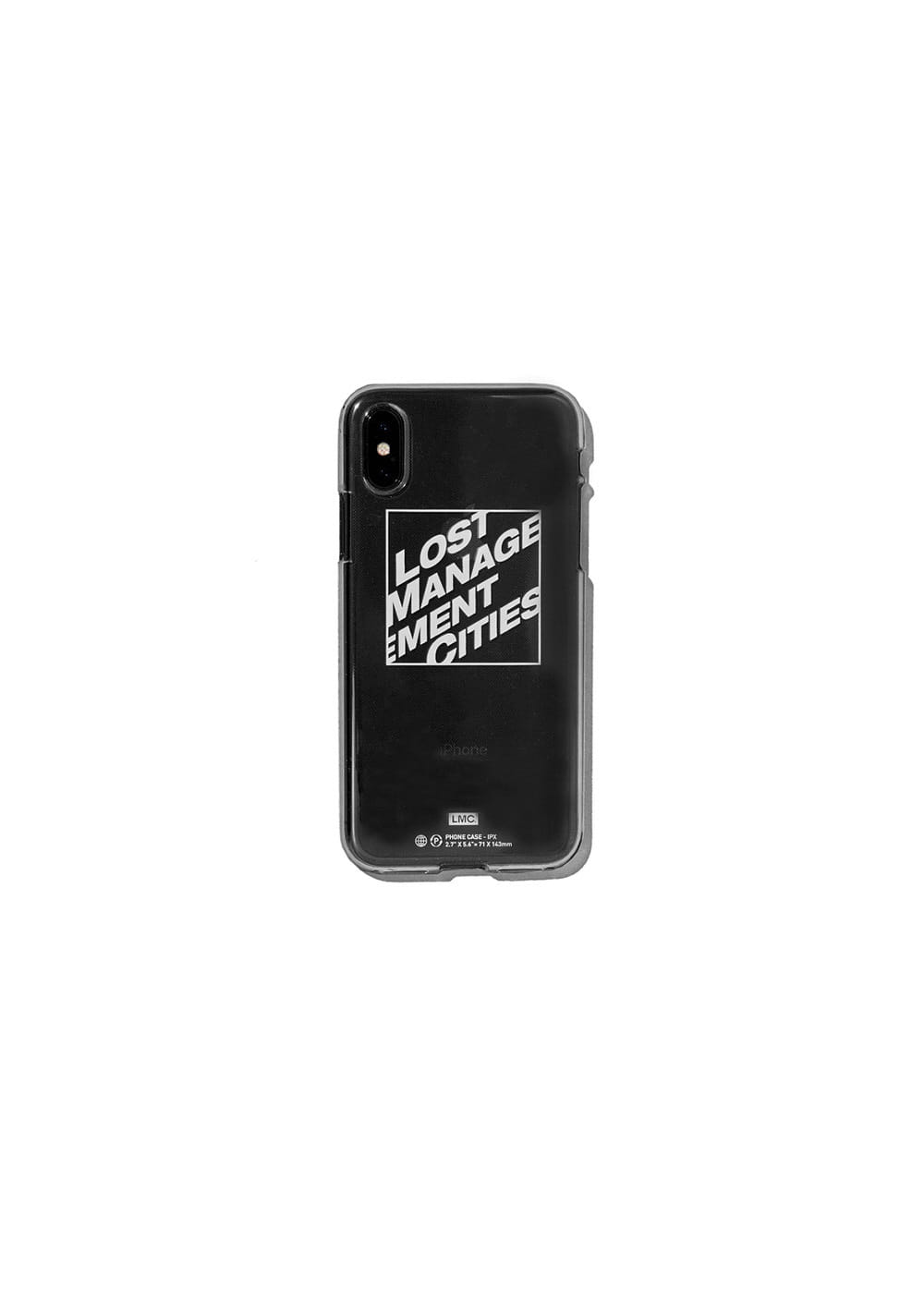 LMC SQUARE IPHONE X JELL CASE clear
