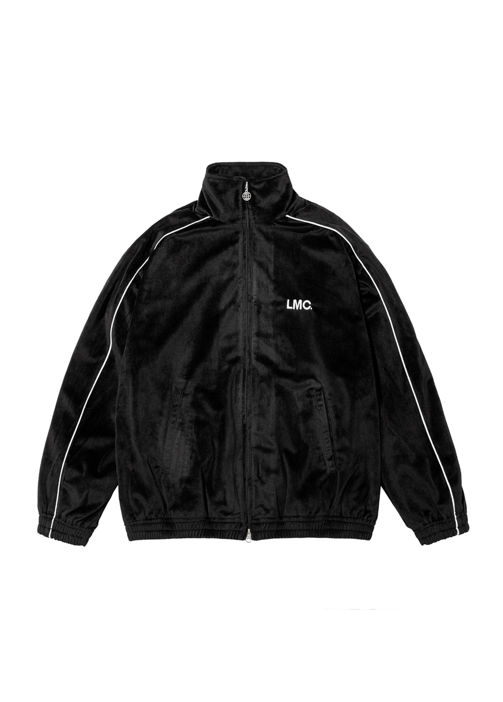 LMC VELOUR TRACK TOP black