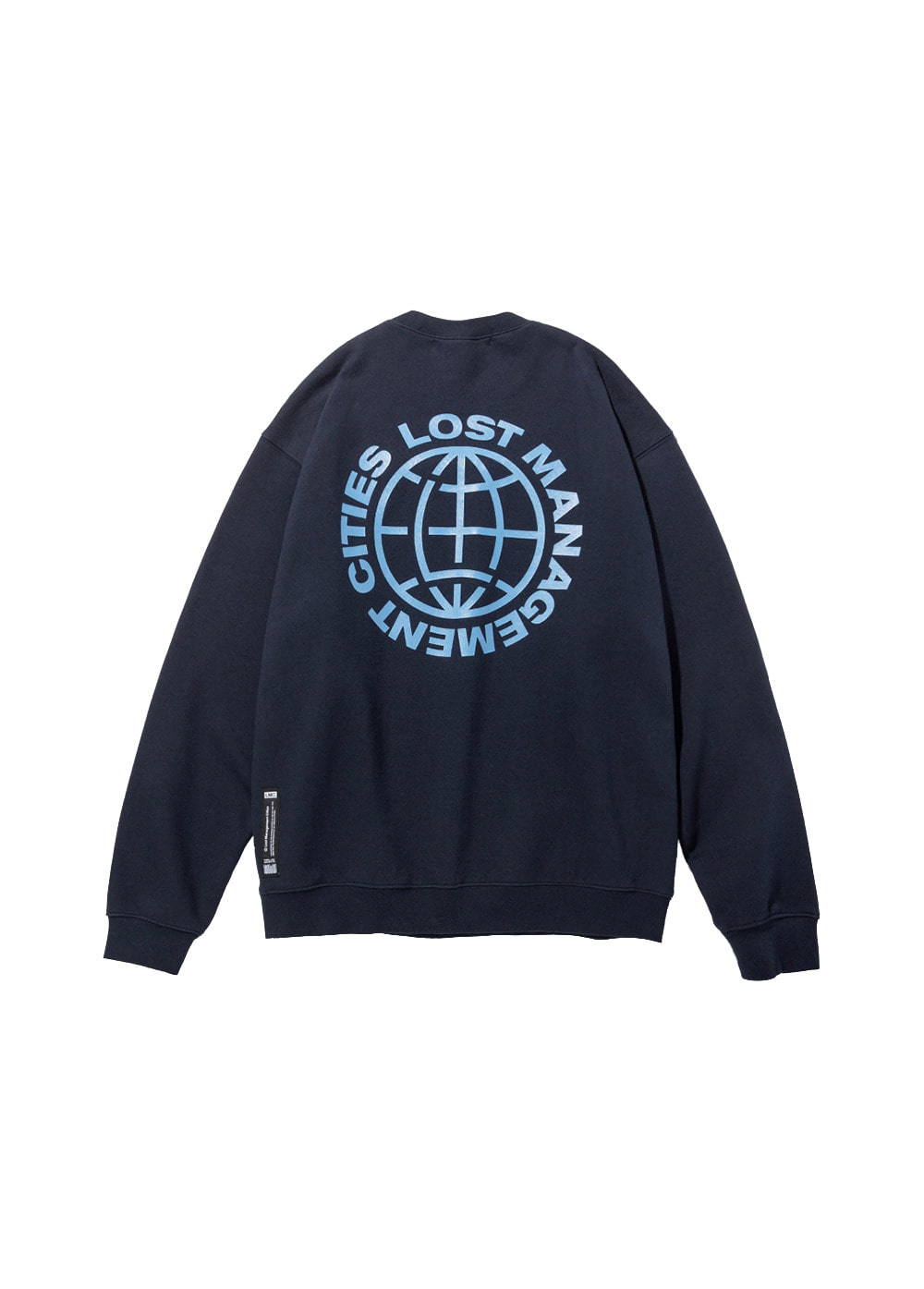 LMC OG WHEEL SWEATSHIRT navy