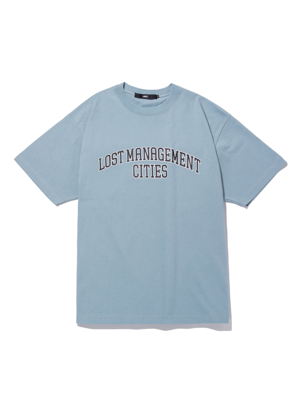 LMC RED LABEL ARCH FN EDGE TEE sky blue