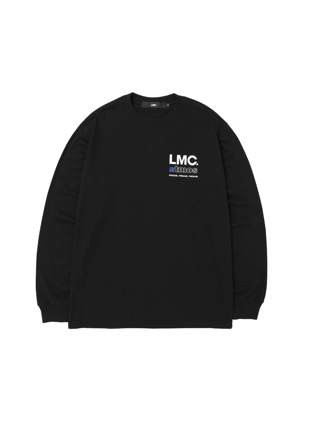 LMC x ATMOS PREQUEL LONG SLV TEE black