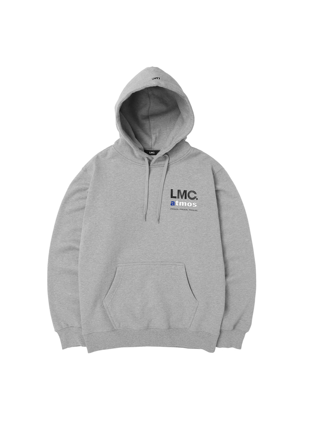 LMC x ATMOS PREQUEL HOODIE heather gray