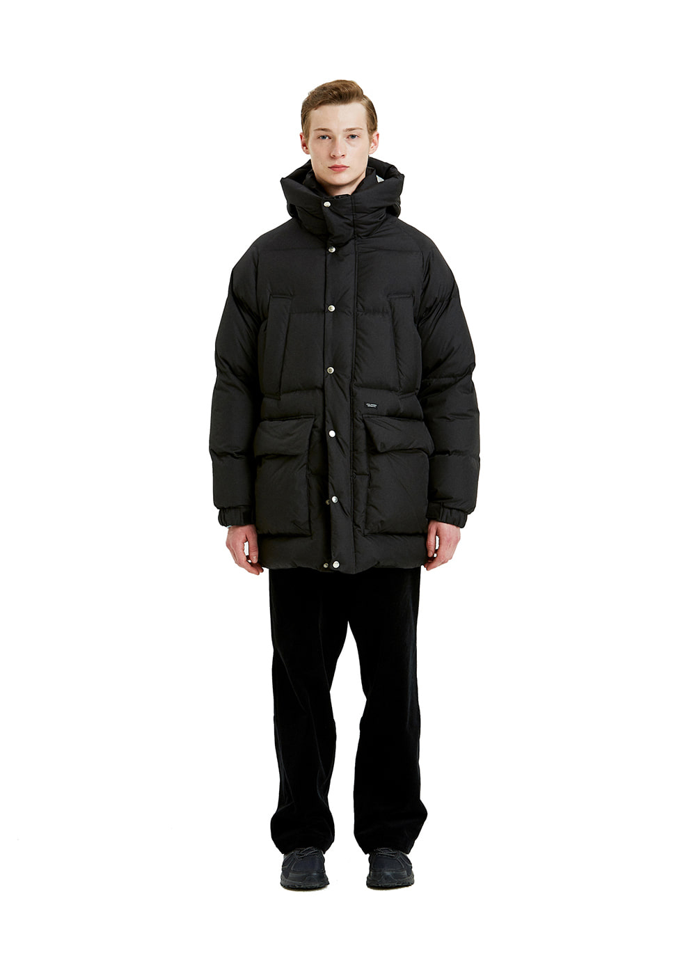 LIFUL OVERSIZED PUFFER LONG DOWN black