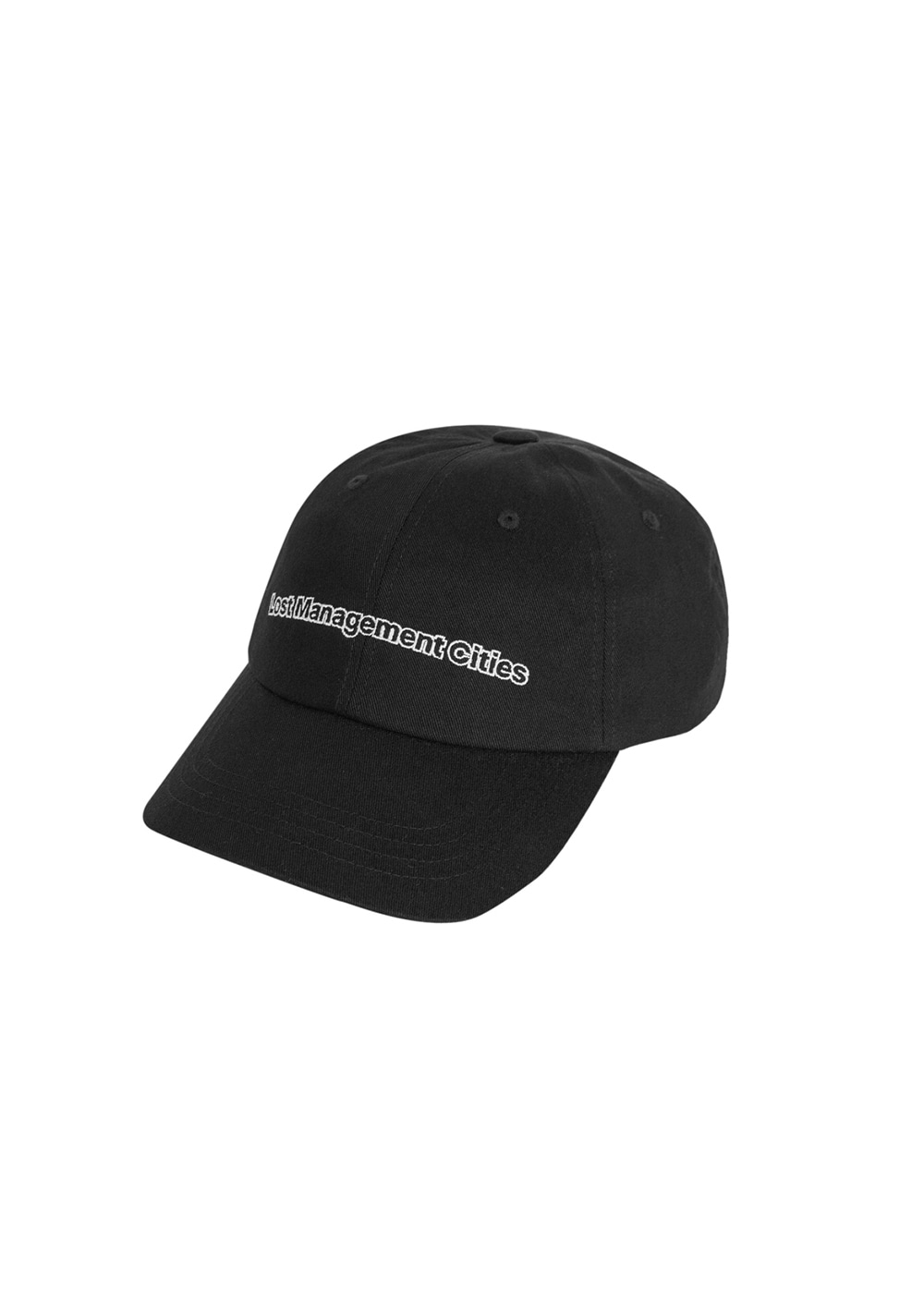 LMC FN OUTLINE 6 PANEL CAP black