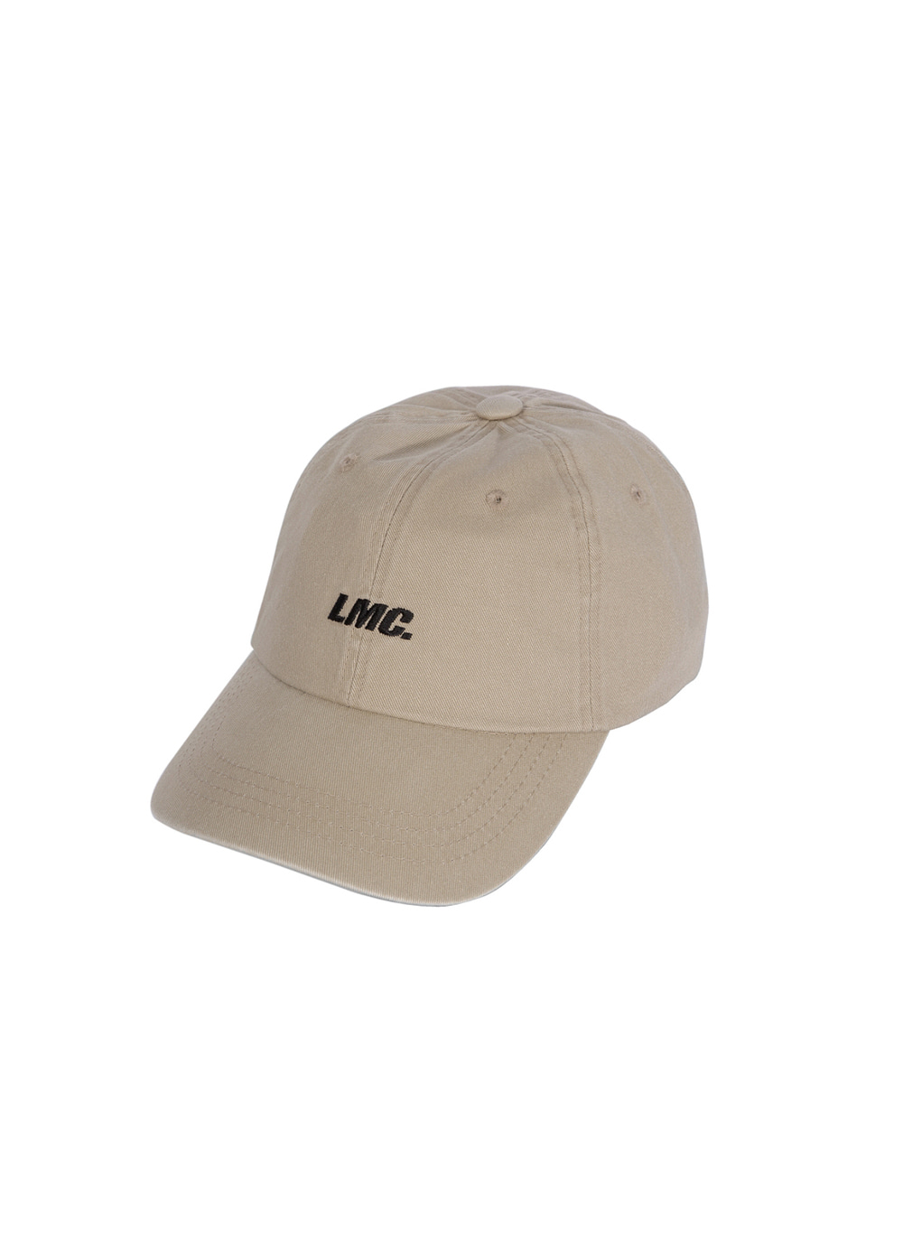 LMC ITALIC WASHED 6 PANEL CAP beige