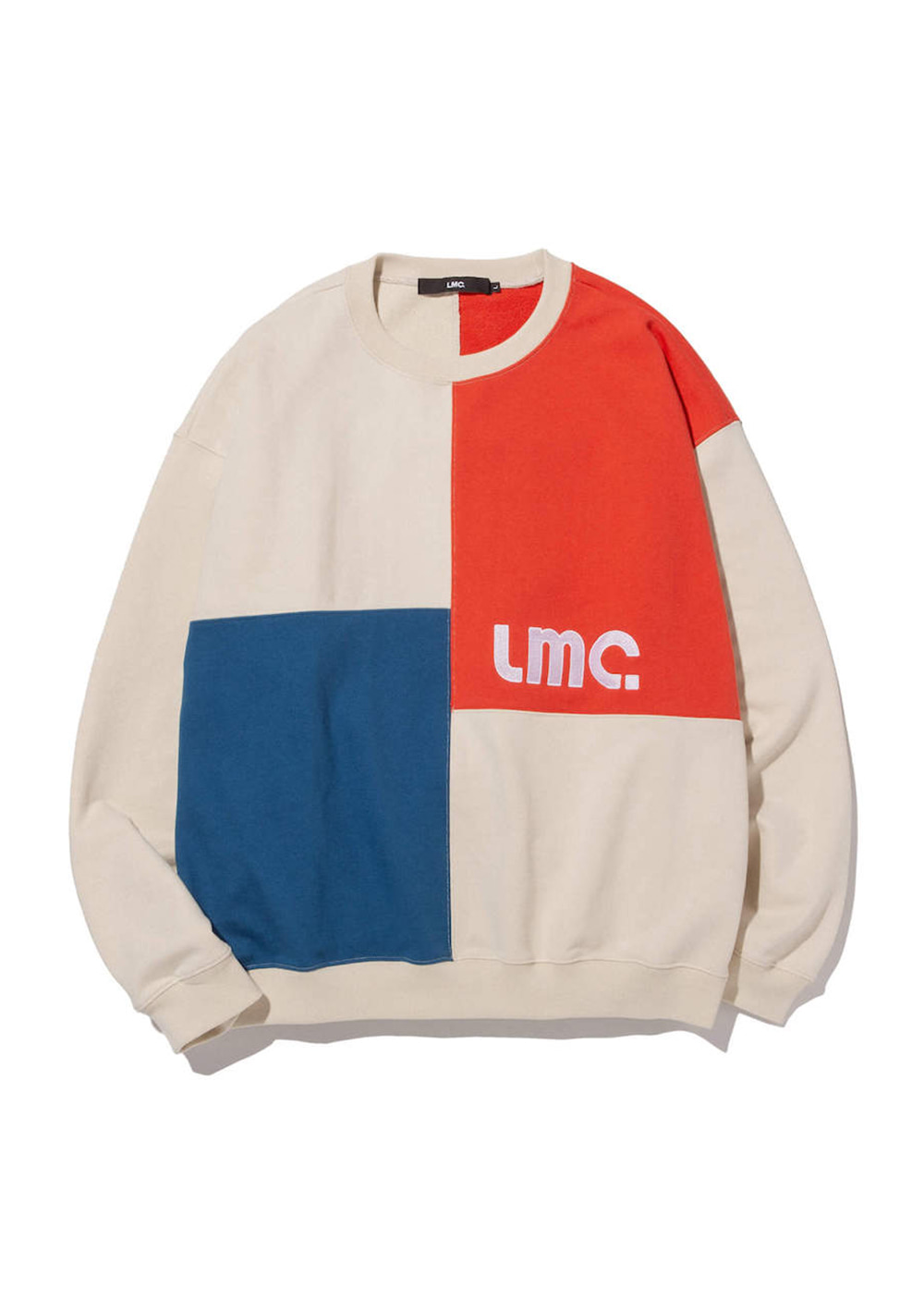 LMC BLOCK SWEATSHIRT cream