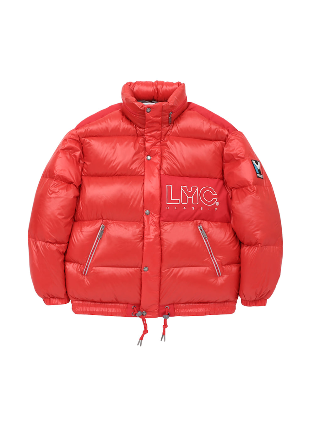 MILLET x LMC RETRO DOUDOUNE DOWN JACKET red