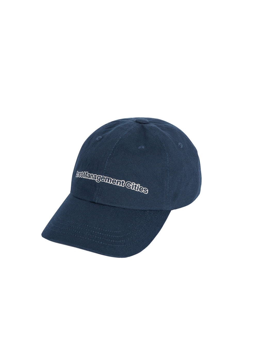 LMC FN OUTLINE 6 PANEL CAP navy