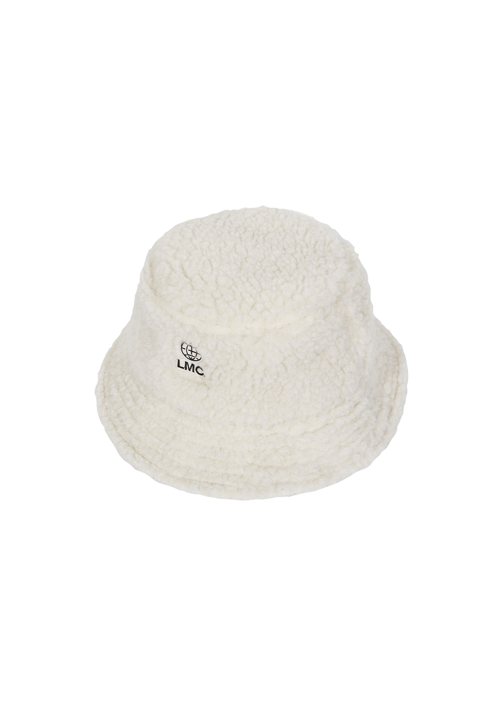 LMC BOA FLEECE BUCKET HAT ivory