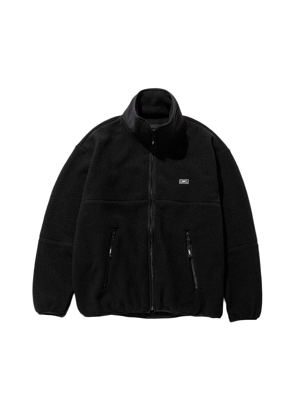LMC S-BOX FLEECE JACKET black