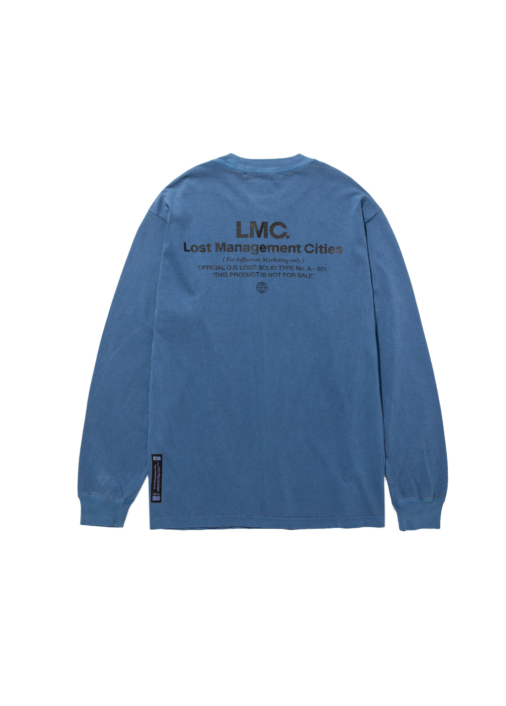 LMC INFLUENCER LONG SLV TEE dark blue