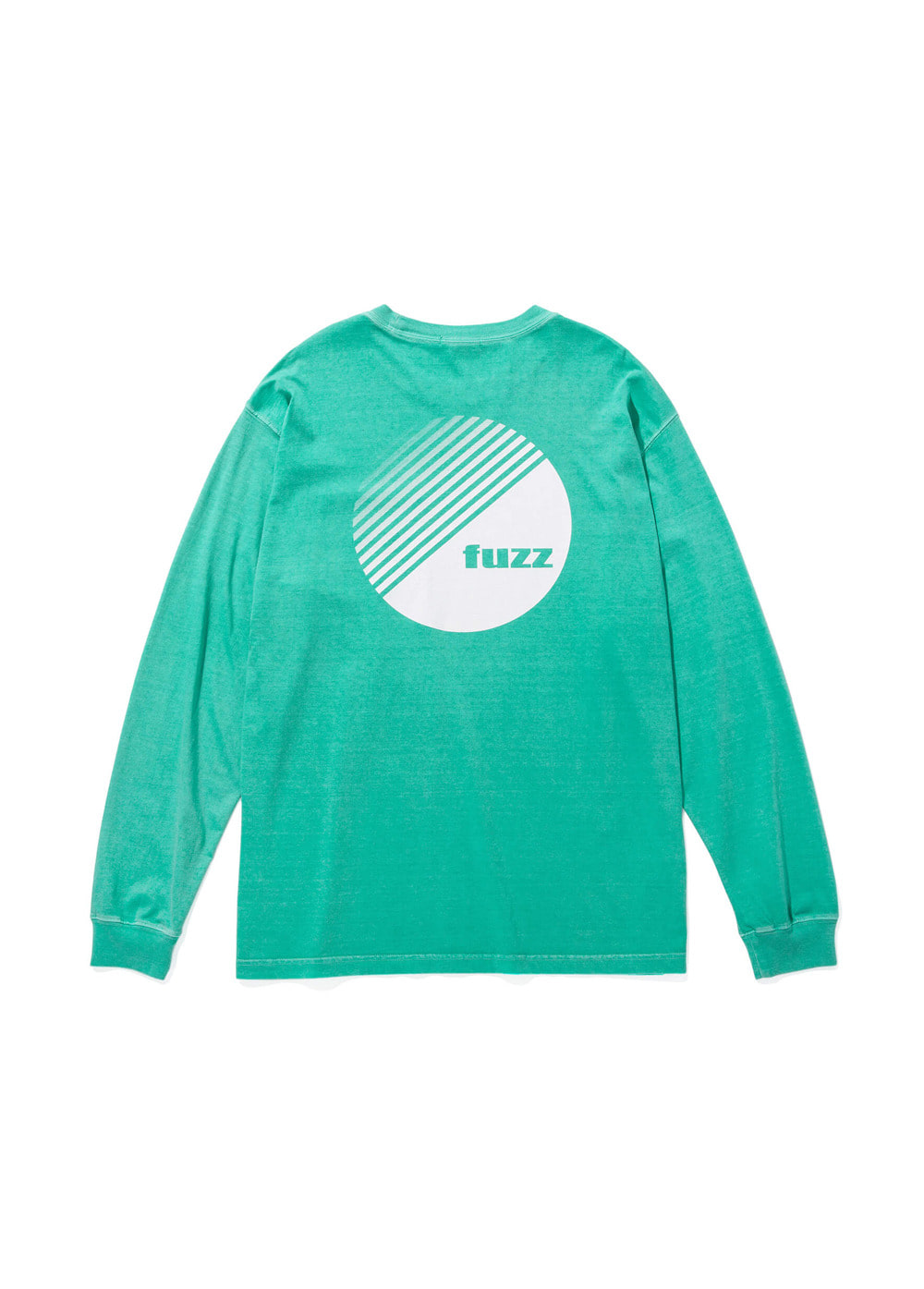 FUZZ PIGMENT DYED POCKET L/S TEE mint