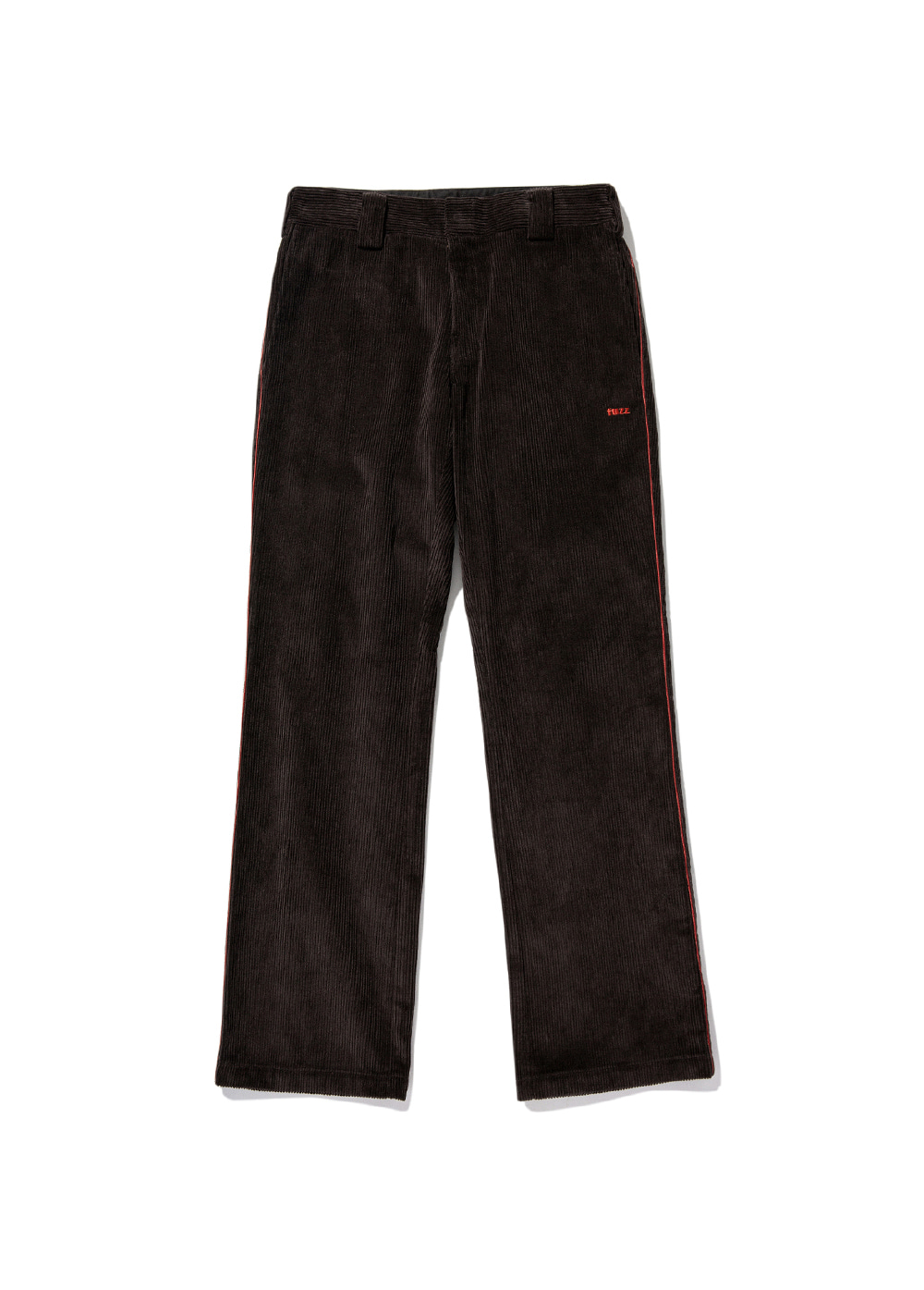 FUZZ CORDUROY BOOTCUT PANTS dark brown