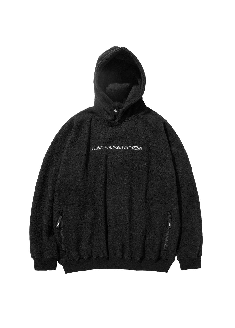 LMC FLEECE OVERSIZED HOODIE black