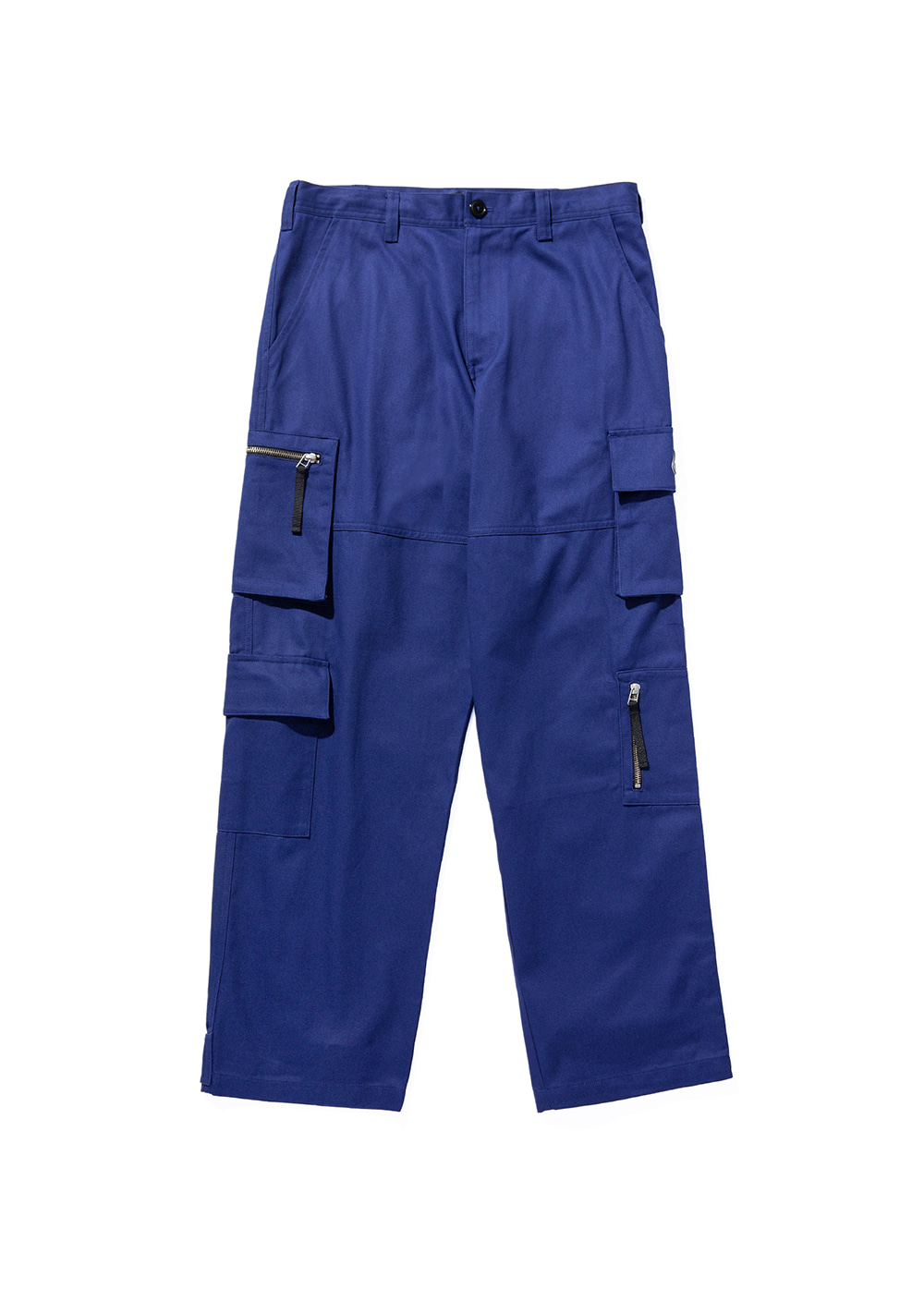 LMC ZIPPER CARGO PANTS blue