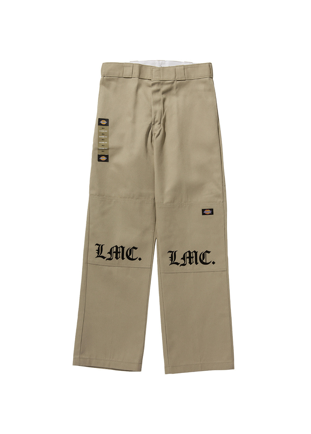 LMC RMK DOUBLE KNEE PANTS khaki