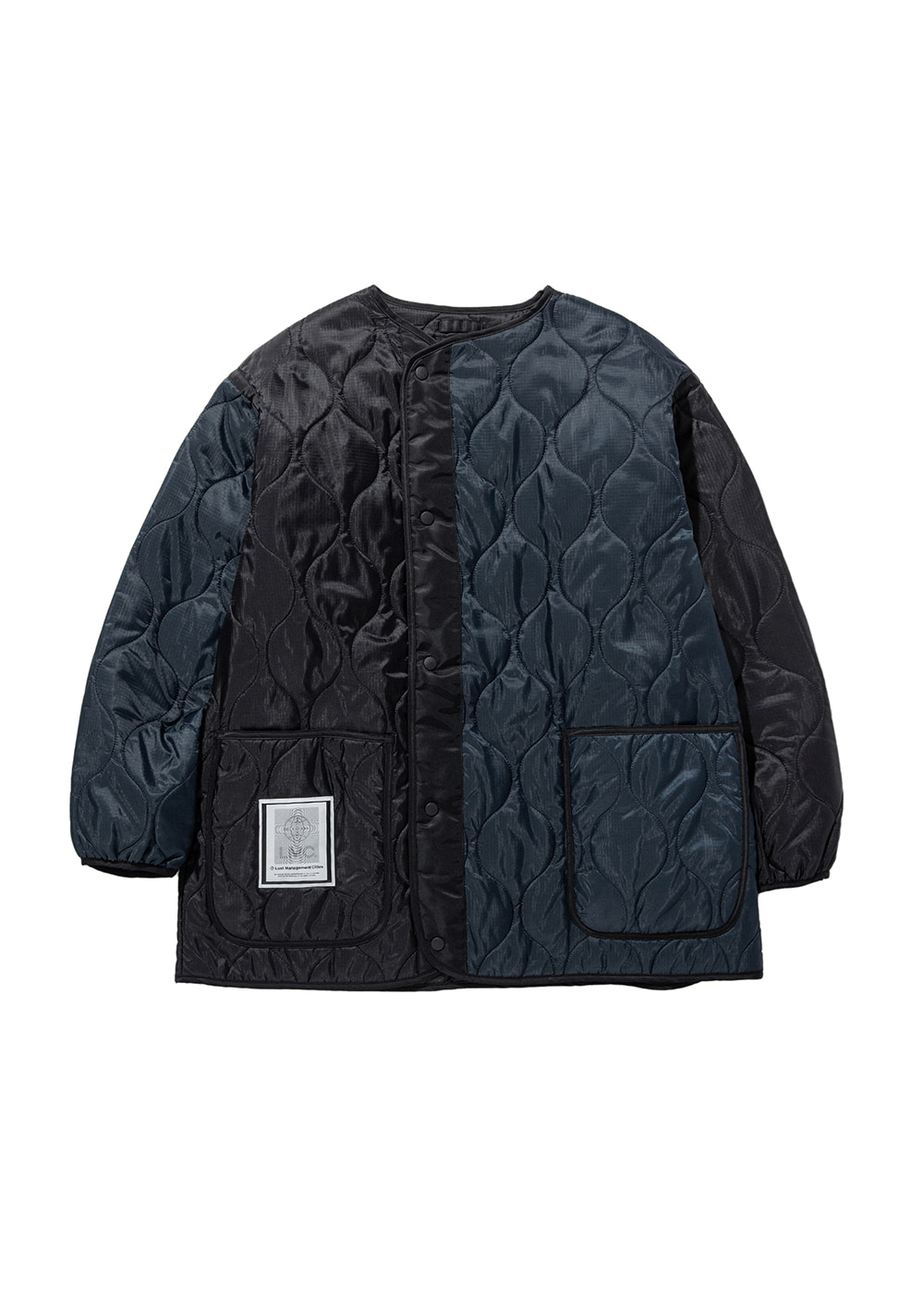 LMC QUILTED LINING JACKET black