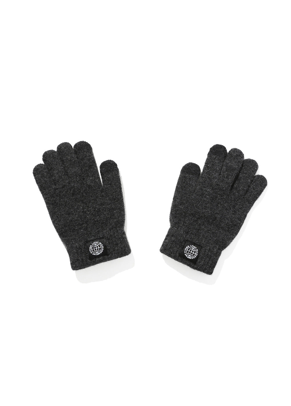 LMC SMART TOUCH KNIT GLOVE charcoal