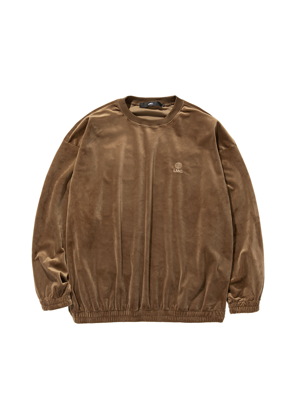 LMC VELOUR OVERSIZED SWEATSHIRT brown