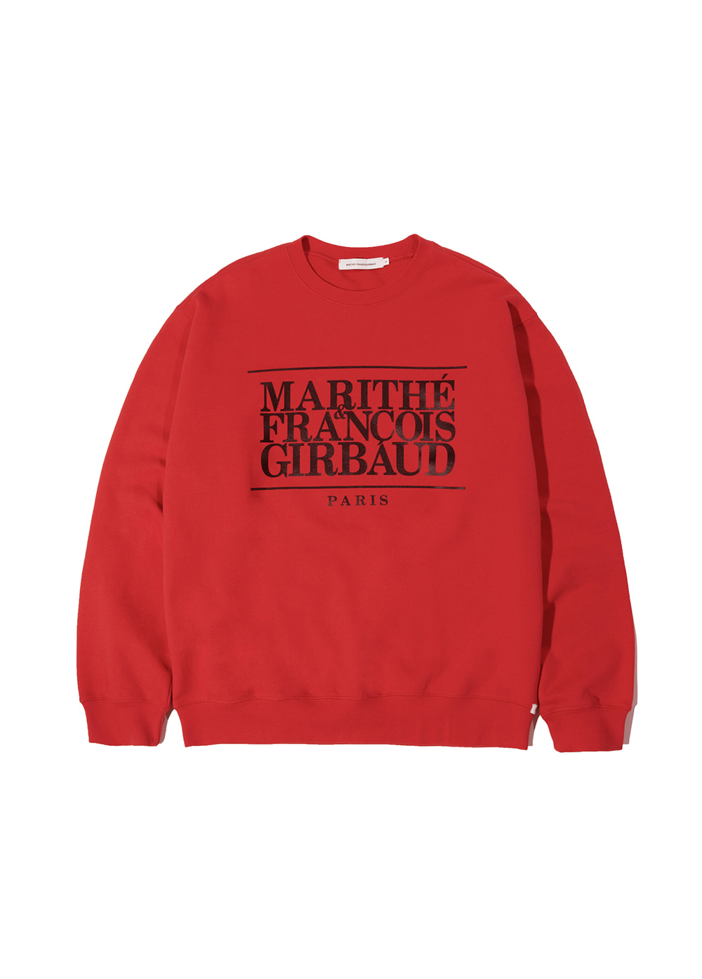 MFG CLASSIC LOGO SWEATSHIRT red