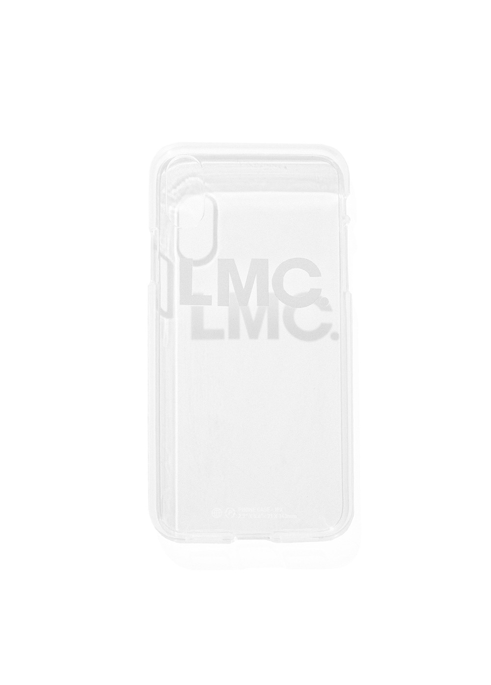 LMC OG IPHONE X/XS JELL CASE clear